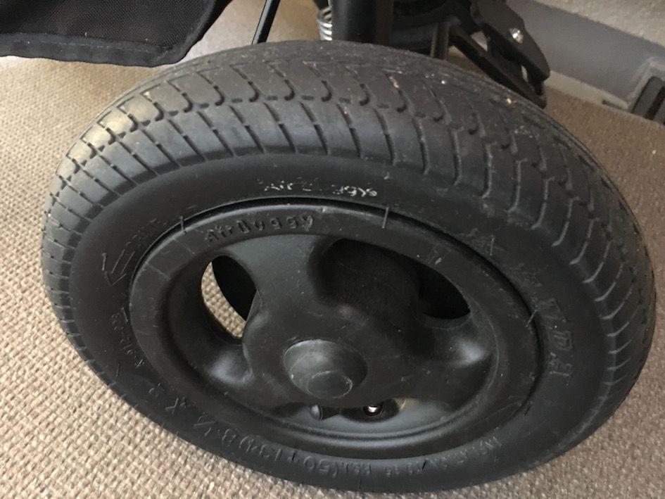 エアバギー大口径タイヤ