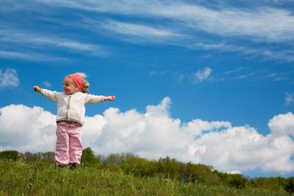 子供が高いきれいな空気を吸える
