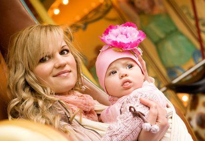 抱っこ紐と赤ちゃん